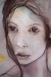 Figura femminle con oro_part